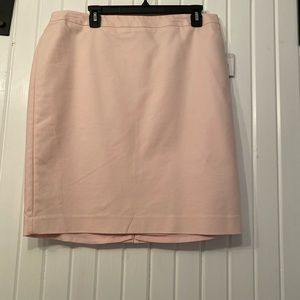 Pink suit skirt